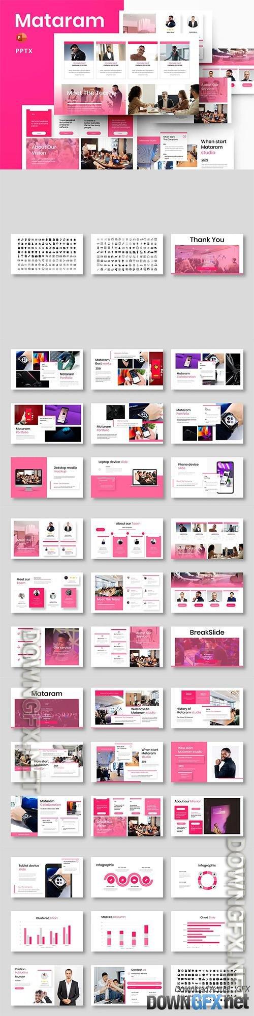 Mataram – Business Powerpoint, Keynote and Google Slides Template