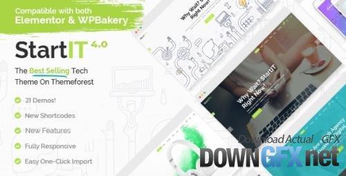 ThemeForest - Startit v4.4 - Fresh Startup Business Theme - 13542725 - NULLED