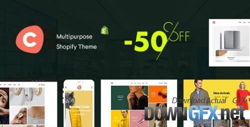 ThemeForest - Ciao v1.2.0 - Multipurpose Shopify Theme - 23588601