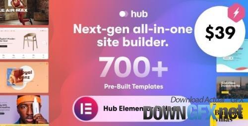 ThemeForest - Hub v1.4 - Responsive Multi-Purpose WordPress Theme - 31569152 - NULLED