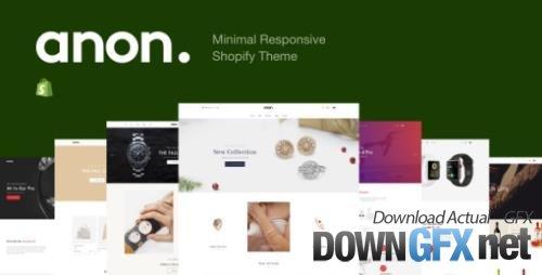 ThemeForest - Anon v1.0.1 - Minimal Responsive Shopify Theme - 25543593