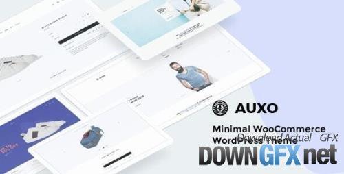 ThemeForest - Auxo v1.1.0 - Minimal WooCommerce Shopping WordPress Theme - 25340538