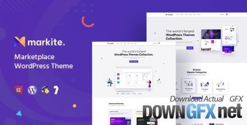 ThemeForest - Markite v1.1.1 - Digital Marketplace WordPress Theme - 32633444