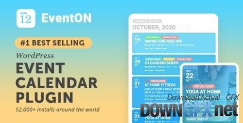 CodeCanyon - EventON v4.0.1 - WordPress Event Calendar Plugin - 1211017 + Add-Ons - NULLED