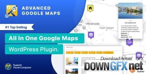 CodeCanyon - Advanced Google Maps Plugin for Wordpress v5.3.0 - 5211638