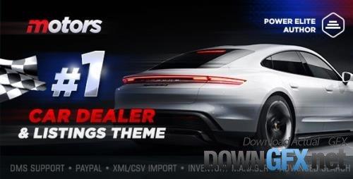 ThemeForest - Motors v5.1.0 - Car Dealer, Rental & Listing WordPress theme - 13987211 - NULLED