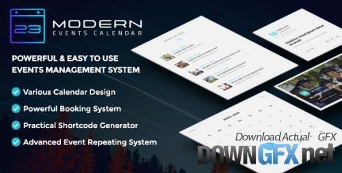 Webnus - Modern Events Calendar Pro v5.19.0 - Responsive Event Scheduler & Booking For WordPress + Add-Ons