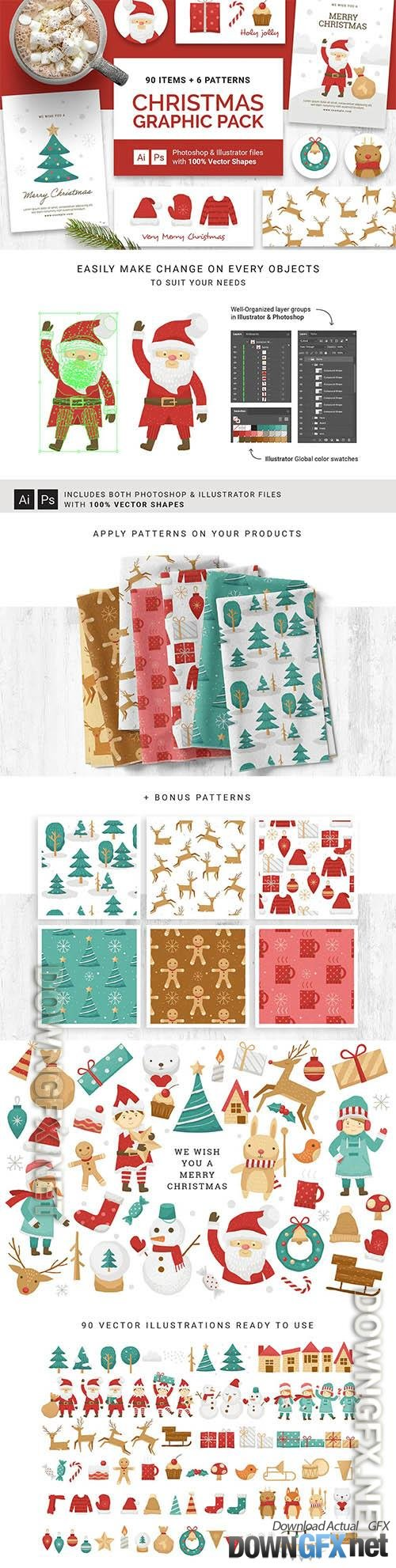 Christmas Vector Graphics & Clipart