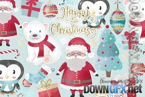 Happy Christmas design