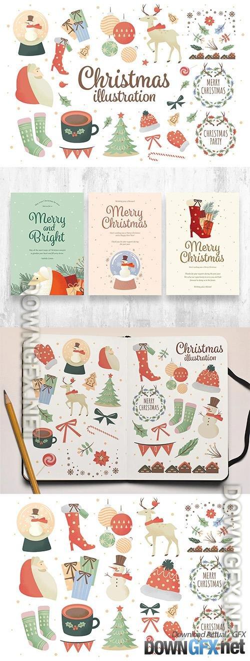 Christmas Clipart Illustrations