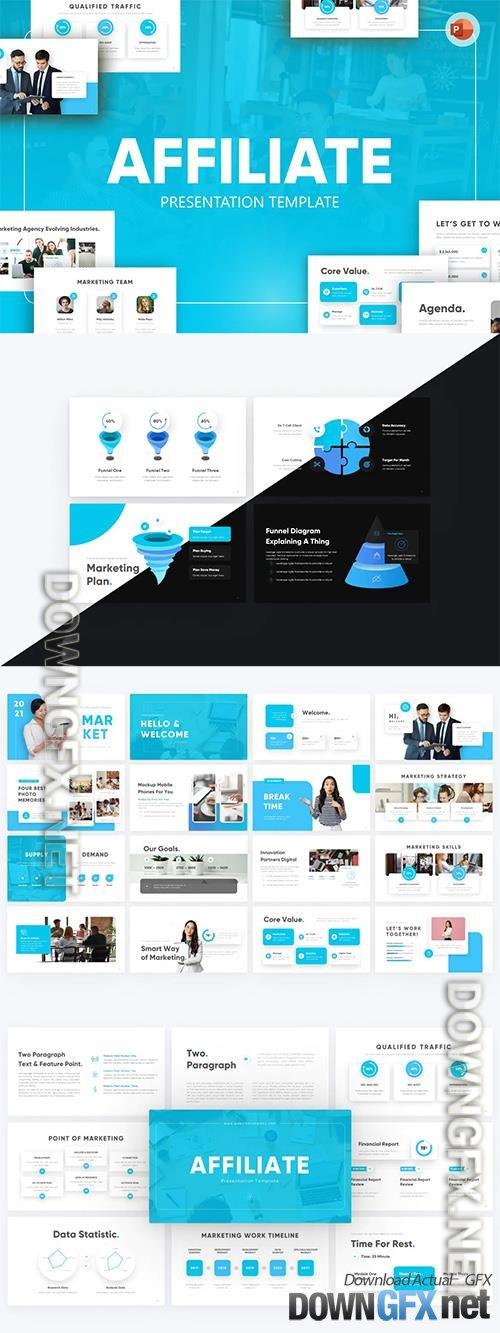 Affiliate Digital Marketing PowerPoint Template