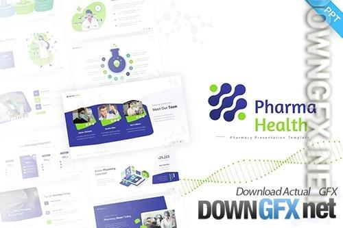 Pharma Health Medical PowerPoint Template