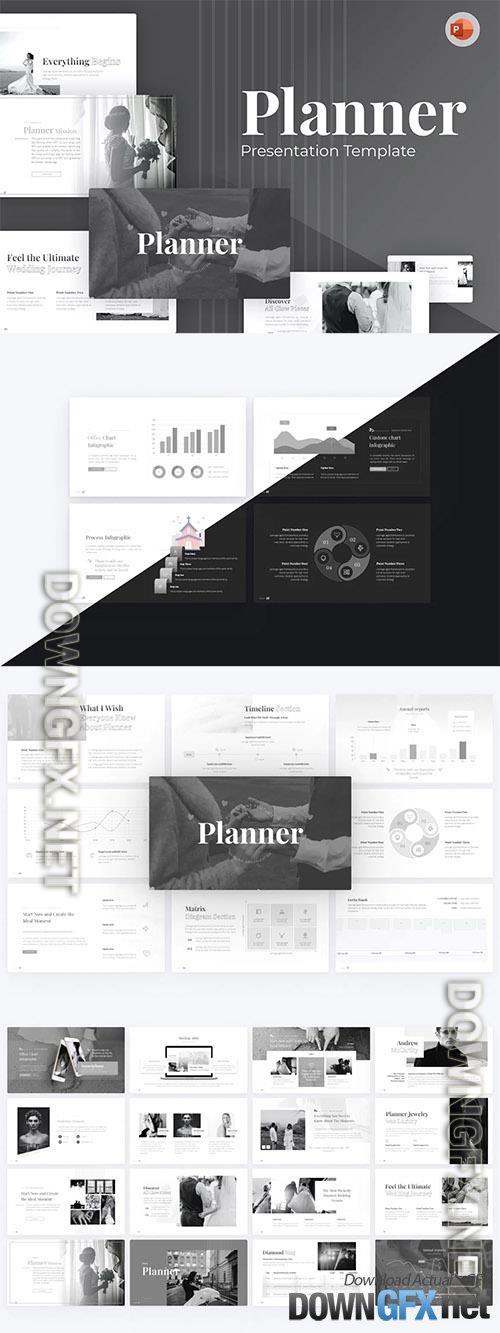 Planner Event Organizer PowerPoint Template