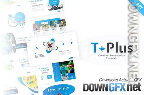 T-Plus PowerPoint Template