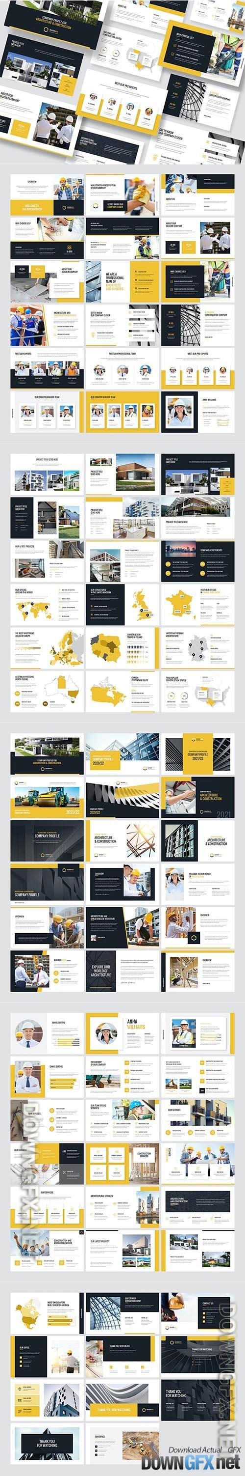 BuilderArch – Construction Company Profile PPT