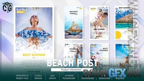 Travel Beach Social Promo B178 34250048