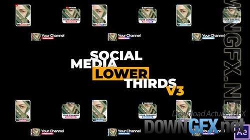 Social Media Lower Thirds v3 34229102