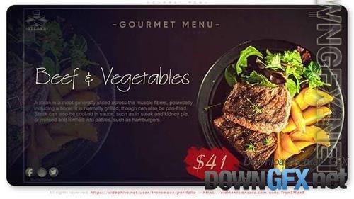 Gourmet Menu 34182014