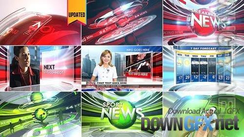 Broadcast Design News Package 6774907