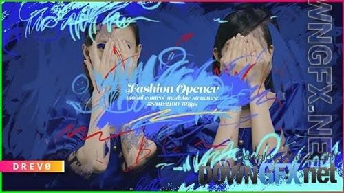 Fashion Opener/ Promo/ Slideshow/ Marketing/ Shop/ Beauty Blog/ Hand Drawing/ Brush/ Black Friday 24 34040602