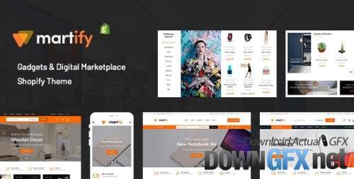 ThemeForest - Martify v2.0.0 - Gadgets & Digital Marketplace Shopify Theme - 23161069