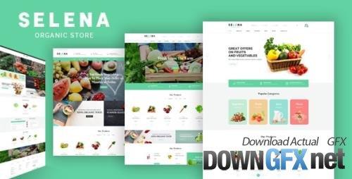 ThemeForest - Selena v1.0.1 - Organic Responsive Prestashop Theme - 22977331