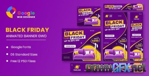CodeCanyon - Black Friday Furniture HTML5 Banner Ads GWD v1.0 - 34268138