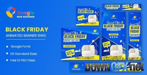 CodeCanyon - Black Friday Sofa HTML5 Banner Ads GWD v1.0 - 34268185