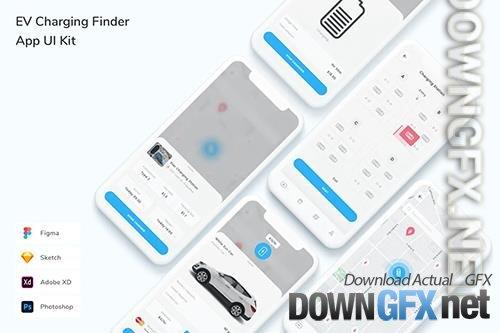 EV Charging Finder App UI Kit