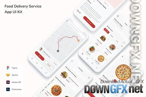 Food Delivery Service App UI Kit