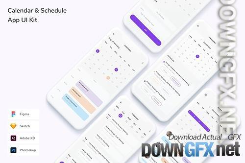 Calendar & Schedule App UI Kit